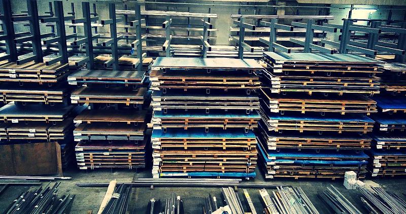Metali inox skladiste